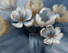 голубые цветы, предпросмотр