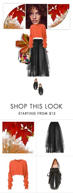 """""""09.23"""" by dragonfly-lt ❤ liked on Polyvore featuring Elie Saab, Unravel, Marni and Milly"""