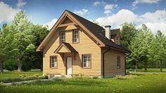 Domy Drewniane 2014. Kolekcja blisko 80 projektów domów. Nie lada gratka dla miłośników technologii kanadyjskiej oraz domów budowanych za balii...