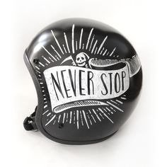 Sweet Never Stop Helmet Design by Matylda Mcilvenny