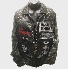 Rocker Jacket from ChadCherryClothing.