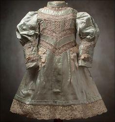 Clothes - SILK DOLL DRESS
