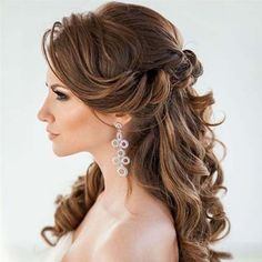 Catery Crystal Bride Wedding Headband Silver Flower Hair Vine Pearl hair Piece Boho Accessories for Women and Girls Easy Hair Up, Easy Updos For Medium Hair, Medium Hair Styles, Long Hair Styles, Hair Medium, Wedding Headband, Silver Headband, Super Easy Hairstyles, Easy Hairstyles For Long Hair