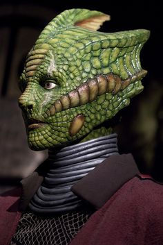 Silurian - Monsters and Enemies: Doctor Who Experience - 4 by Paulo Dykes, via Flickr. One of the coolest races met on DW.