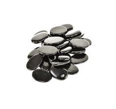 Čierne dekoračné kamene