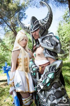 Ashe and Tryndamere - League of Legends