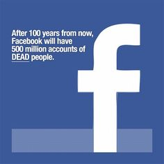 There are currently more dead people on Earth than living people, and soon, that will be true for Facebook, too.