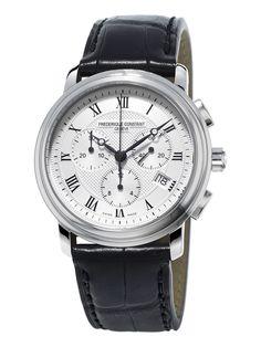 c65d199330b Classics Chronograph – Frederique Constant Caixa De Aço Inoxidável