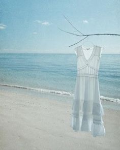 Ah!  The perfect white dress!