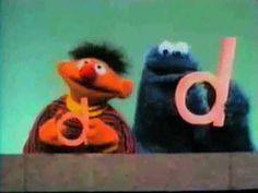 MY NEW FAVORITE SONG. Sesame Street - D, D D Song