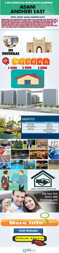 #AdaniAndheriEast is an upcoming #realestate project in the Capital city of india known as #Mumbai which is offering for people as 1 BHK 2 BHK, 3 BHK  #Flats within a very #affordableprice. Please click here to know more:http://www.adaniandherieast.newprojectlaunch.in