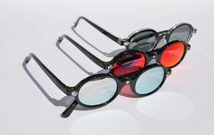 Jossa sunglasses mirror colors made in italy