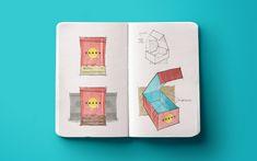 Alfajores Odara on Behance | branding / graphic design / packaging | chocolate / food / beach / sun.
