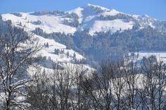 Gegenüber vom #Hahnenkamm Traumhafter Blick! #Kitzbühel