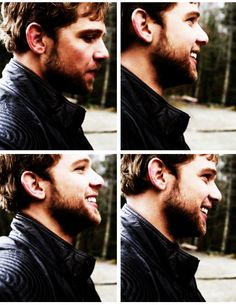What a perfect smile! Max Thieriot