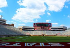 Doak Campbell Stadium : Florida State University Seminoles, Tallahassee, FL.