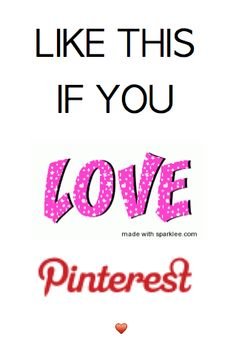 Repin this also if you love Pinterest. Spread the love!