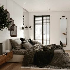 Bedroom Inspiration // Artpartner Architects The Perfect Scandinavian Style Home Bedroom Sets, Home Bedroom, Bedroom Decor, Ikea Bedroom, Bedroom Furniture, Bedrooms, Decoration Inspiration, Bedroom Inspiration, Boho Inspiration