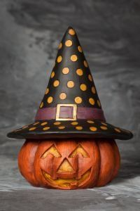 Head-O-Jack...fabulously haunting Halloween decoration!