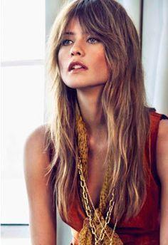 La moda en tu cabello: Flequillo abierto - Otoño Invierno 2016