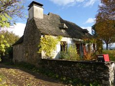 View this house in Goulles, Corrèze France Inglenook Fireplace, French Property, Limousin, Attic Rooms, Stone Houses, Maine House, Terrace, Floor Plans, Stairs