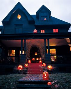 Pumpkin Welcoming Committee