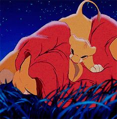 """""""We'll always be together, right?""""  (""""The Lion King"""")"""