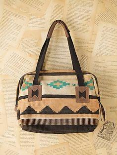 vintage navajo bag