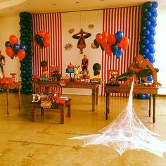 spiderman party http://instagram.com/vmartins4