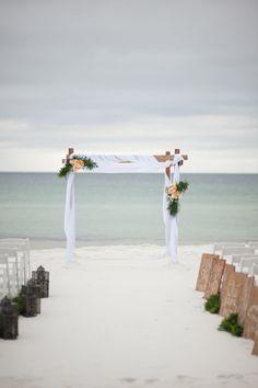Andrews-Nail Wedding Arch