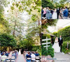 Julia & Matt, Mill Valley, Outdoor Art Club, Damion Hamilton, Ceremony