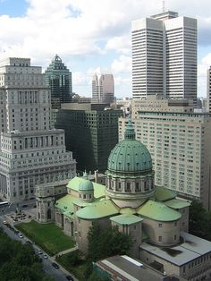 Montreal from Chateau Champlain by ldjaffe, via Flickr #EasyPin