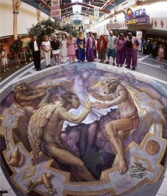 chalk art | 25 Breathtaking 3D Chalk Art | Webdesign Core