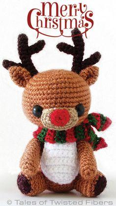 Crochet Rudy The Reindeer