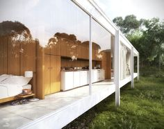 www.dreisicht.ch - farnsworth house - 3D
