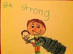 Be Strong Kindness Card (June 2015)