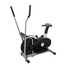 2-in-1 Elliptical & Bike Cross Trainer Exercise Machine