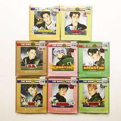 EXO x NatureRepublic The Power of Music Edition Real Mini EXO Mask Set + Sticker