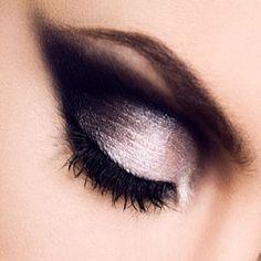 Dark Angel - Eye makeup, eyeshadow, art - Make-Up - Dark Eyeshadow, Cream Eyeshadow, Makeup Eyeshadow, Makeup Brushes, Metallic Eyeshadow, Dark Angels, Costume Makeup, Party Makeup, Engel Make-up