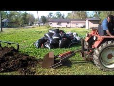 Ładowacz obornika DIY / Manure Loader for tractor Home Made - YouTube
