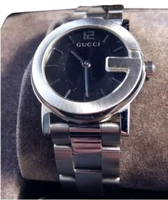 Gucci Watches - Shop designer fashion at Tradesy and save 70% off or more on fashion accessories. Gucci Watches For Men, Rolex Watches, Gucci Accessories, Vintage Gucci, Stainless Steel Watch, Fashion Bracelets, Quartz, Crystals, Sapphire