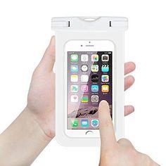 NEWELL™ Universal Waterproof Dirtproof Case Bag for iPhone, Samsung, HTC, Max, LG, Nexus, Sony Xperia, Nokia Lumia, BlackBerry, Motorola and other Smartphone (Orange)