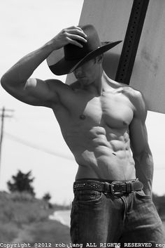 sexy shirtless cowboy ( Check out this BODY)