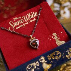 Rock Love's Heart Stopping Disney Jewelry Collection - Disney Jewelry - Jewelry Single Diamond Necklace, Diamond Solitaire Necklace, Cute Jewelry, Vintage Jewelry, Fall Jewelry, Gothic Jewelry, Jewelry Necklaces, Disney Jewelry Collection, Accesorios Casual