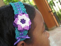 Tamigurumi: Haarband | Headband