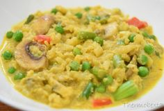 Thermobexta's Creamy Curried Caulisotto