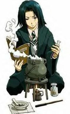 young anime Snape
