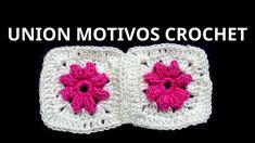 Unión Motivo Nº 5 granny square en tejido crochet tutorial paso a paso.
