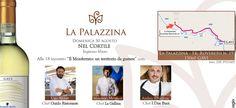 """Domenica 30 agosto, a partire dalle ore 18 """"Nel Cortile"""" della tenuta La Palazzina, in via Rovereto 19 a Gavi, tre chef stellati saranno i protagonisti dell'incontro: """"Il Monferrato, un territorio ..."""