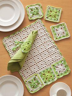 Crochet Home Decor - ANNIE'S SIGNATURE DESIGNS: Bon Appetit
